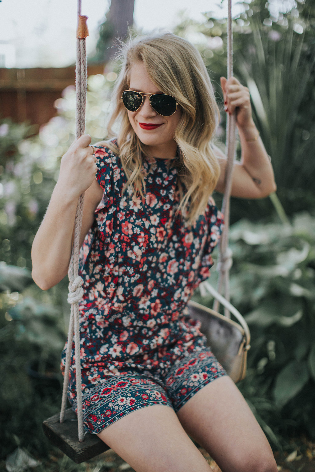 The Best Floral Romper for Summer from LOFT